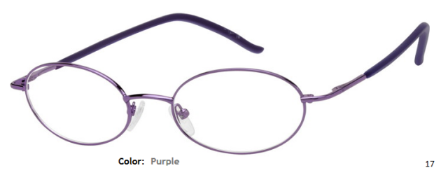 METAL FRAME-OVAL-Full Rim-Spring Hinge-Custom Reading Glasses-CE0014