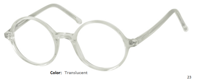PLASTIC FRAME-ROUND-Full Rim-Custom Reading Glasses-CE0034