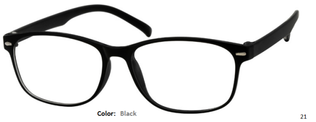 PLASTIC FRAME-WAYFARER-Full Rim-Custom Reading Glasses-CE0542