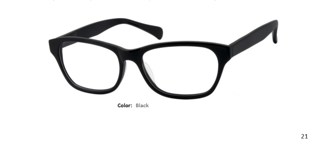PLASTIC FRAME-WAYFARER-Full Rim-Custom Reading Glasses-CE0916