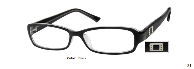 PLASTIC FRAME-RECTANGLE-Full Rim-Custom Reading Glasses-CE1562