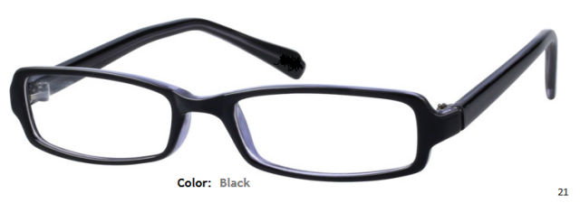 PLASTIC FRAME-RECTANGULAR-Full Rim-Custom Reading Glasses-CE1733