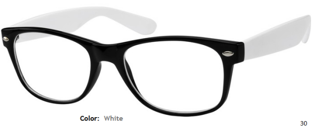 PLASTIC FRAME-WAYFARER-Full Rim-Custom Reading Glasses-CE2072