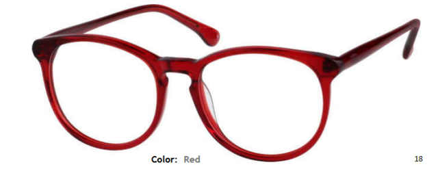 PLASTIC FRAME-ROUND-Full Rim-Custom Reading Glasses-CE2101