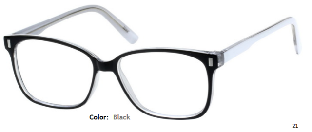 PLASTIC FRAME-WAYFARER-Full Rim-Custom Reading Glasses-CE2621