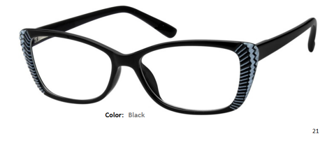 PLASTIC FRAME-CATEYE-Full Rim-Custom Reading Glasses-CE3282