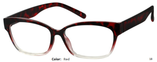PLASTIC FRAME-CAT EYE-Full Rim-Custom Reading Glasses-CE3602