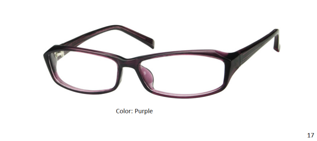 PLASTIC FRAME-RECTANGLE-Full Rim-Custom Reading Glasses-CE3922