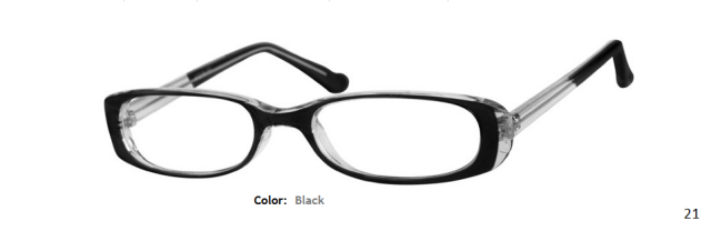 PLASTIC FRAME-OVAL-Full Rim-Custom Reading Glasses-CE4432