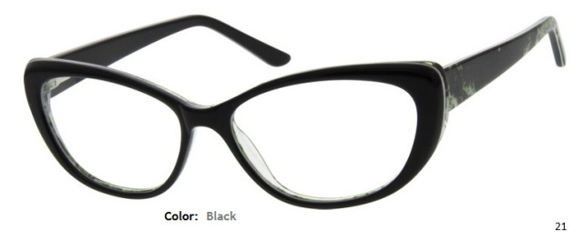 PLASTIC FRAME-CAT EYE-Full Rim-Custom Reading Glasses-CE5326