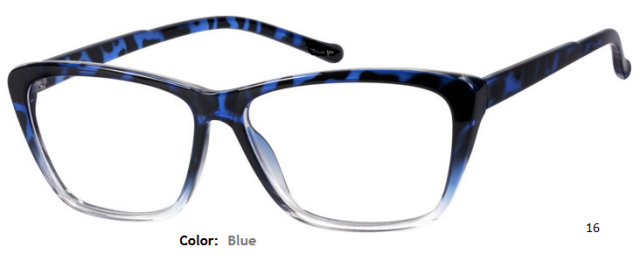 PLASTIC FRAME-CAT EYE-Full Rim-Custom Reading Glasses-CE5602
