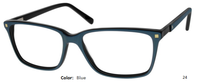PLASTIC FRAME-WAYFARER-Full Rim-Spring Hinges-Custom Reading Glasses-CE5636