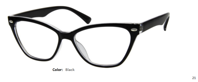 PLASTIC FRAME-CAT EYE-Full Rim-Custom Reading Glasses-CE6382