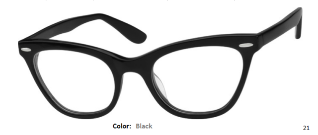 PLASTIC FRAME-CAT EYE-Full Rim-Custom Reading Glasses-CE6784