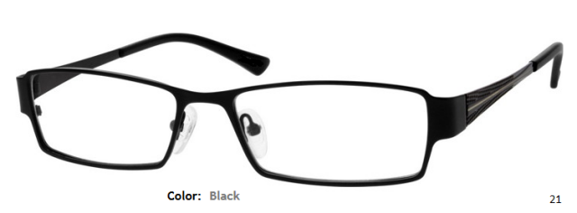 STAINLESS STEEL FRAME-RECTANGULAR-Full Rim-Custom Reading Glasses-CE9096