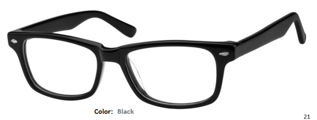 PLASTIC FRAME-WAYFARER-Full Rim-Custom Reading Glasses-CE9216