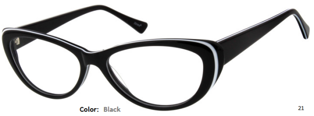 PLASTIC FRAME-CAT EYE-Full Rim-Custom Reading Glasses-CE9444
