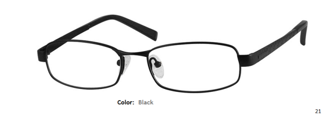 TITANIUM FRAME-RECTANGLE-Full Rim-Custom Reading Glasses-CE9473