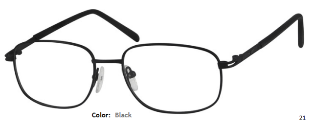 METAL FRAME-RECTANGLE-Full Rim-Custom Reading Glasses-CE9874