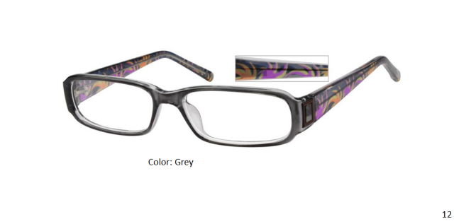PLASTIC FRAME-RECTANGLE-Full Rim-Custom Reading Glasses-CE3362