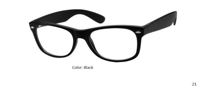 PLASTIC FRAME-WAYFARER-Full Rim-Custom Reading Glasses-CE4072