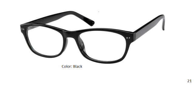 PLASTIC FRAME-WAYFARER-Full Rim-Custom Reading Glasses-CE4872